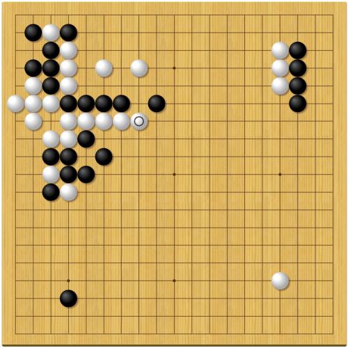 棋聖戦第4局1日目