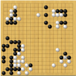 第43期囲碁名人戦第1局2日目