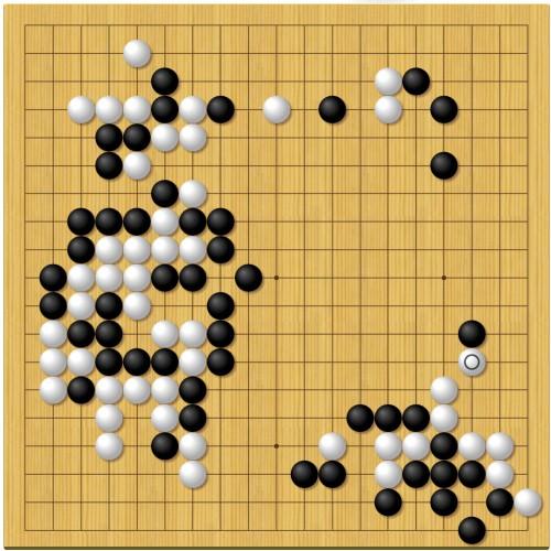 第43期囲碁名人戦第3局2日目