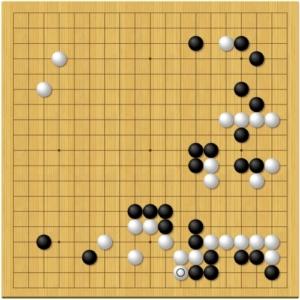 第66期囲碁王座戦第1局