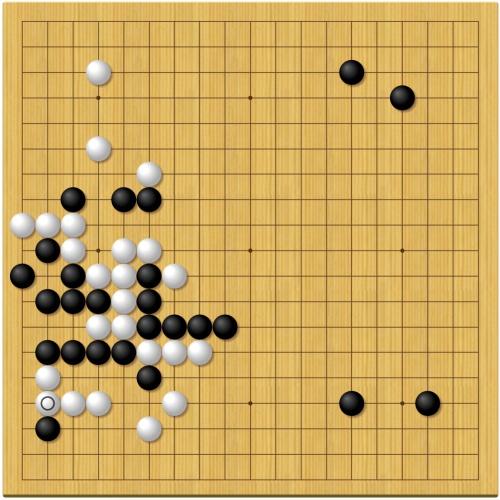 第44期囲碁天元戦第2局