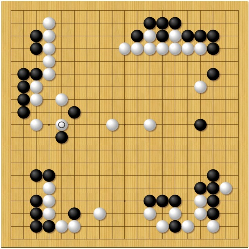 第43期囲碁名人戦第7局封じ手予想