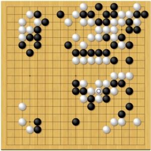 棋聖戦第1局2日目