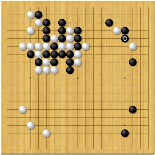 棋聖戦第2局1日目
