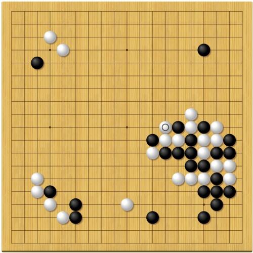 棋聖戦第6局1日目