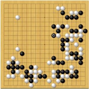 棋聖戦第7局2日目