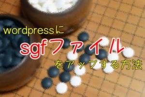 sgfファイル