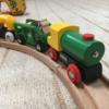 BRIOの木製電車レールセットを紹介します!木の温もりがとてもいい感じです!