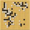 【第73期囲碁本因坊戦第2局 】本因坊文裕の黒番中押し勝ち!黒が終始ペースを握っ